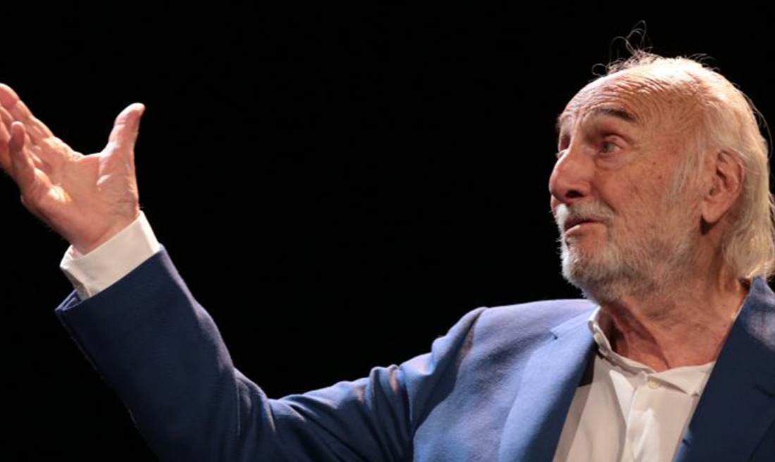 Héctor Alterio y José Luis Merlín, poesía y música fusionadas