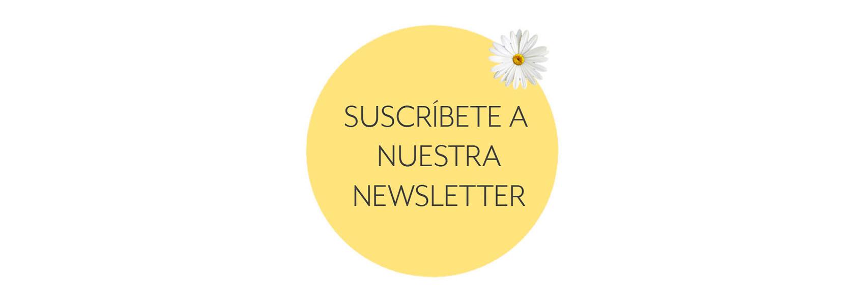 ¡Suscríbete a nuestra newsletter!