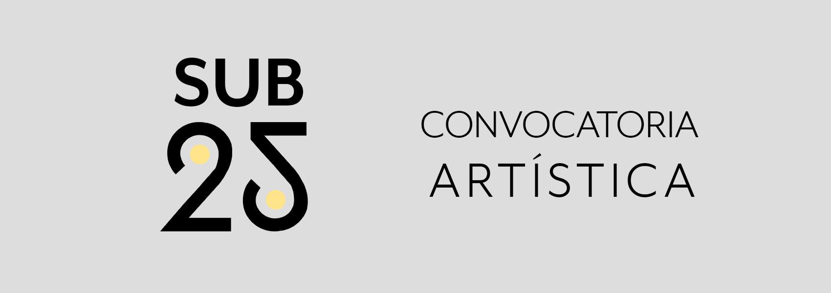 Abierta la convocatoria para artistas de hasta 25 años